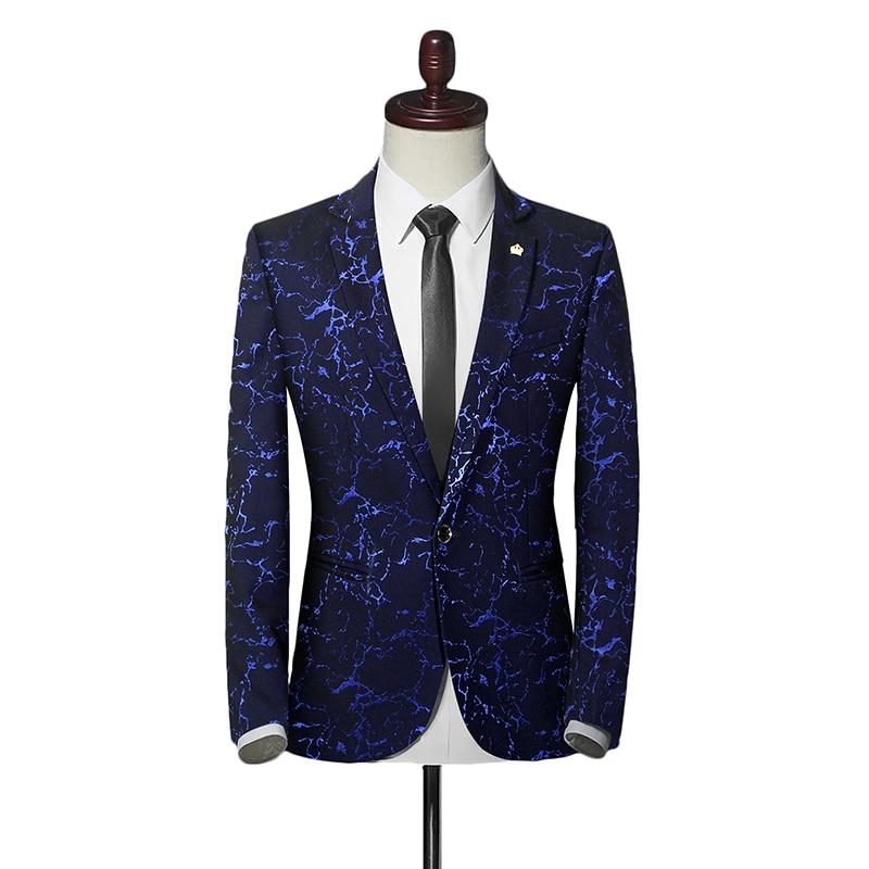 Formal Wear Blazers Men's Wedding Dress Suit Jackets New Men Single Button Suit Jackets Casual Blazers Size 3XL