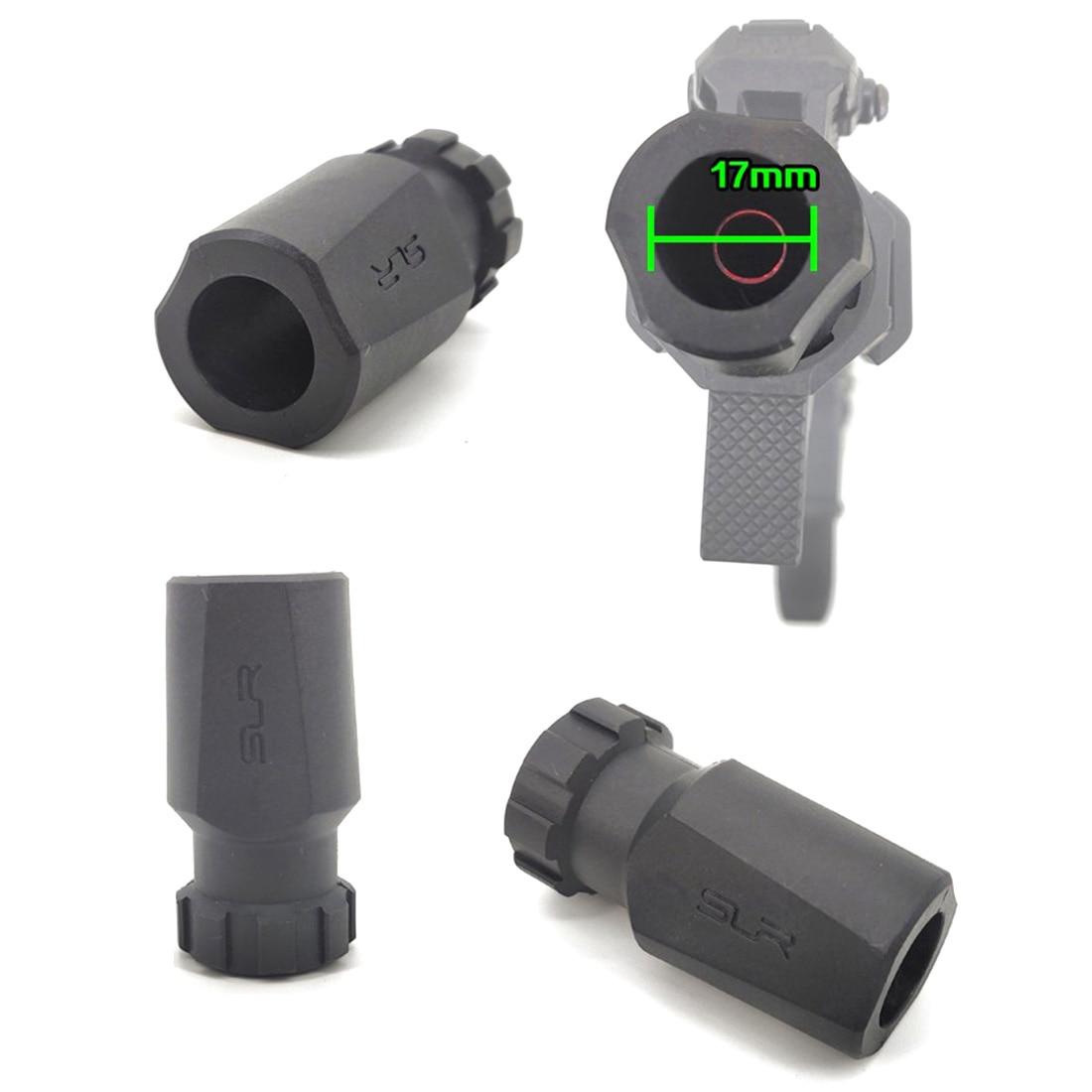 MODIKER Jingji 14mm SLR Nylon expansión agujero de rosca inversa barril tapa decorativa para JM 10/14mm CCW agua Gel Beads Blaster