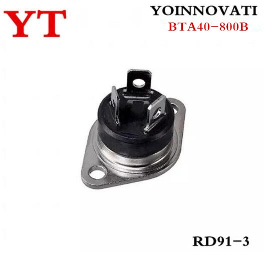 5 unids/lote BTA40-800B BTA40-800 BTA40 RD91 mejor calidad