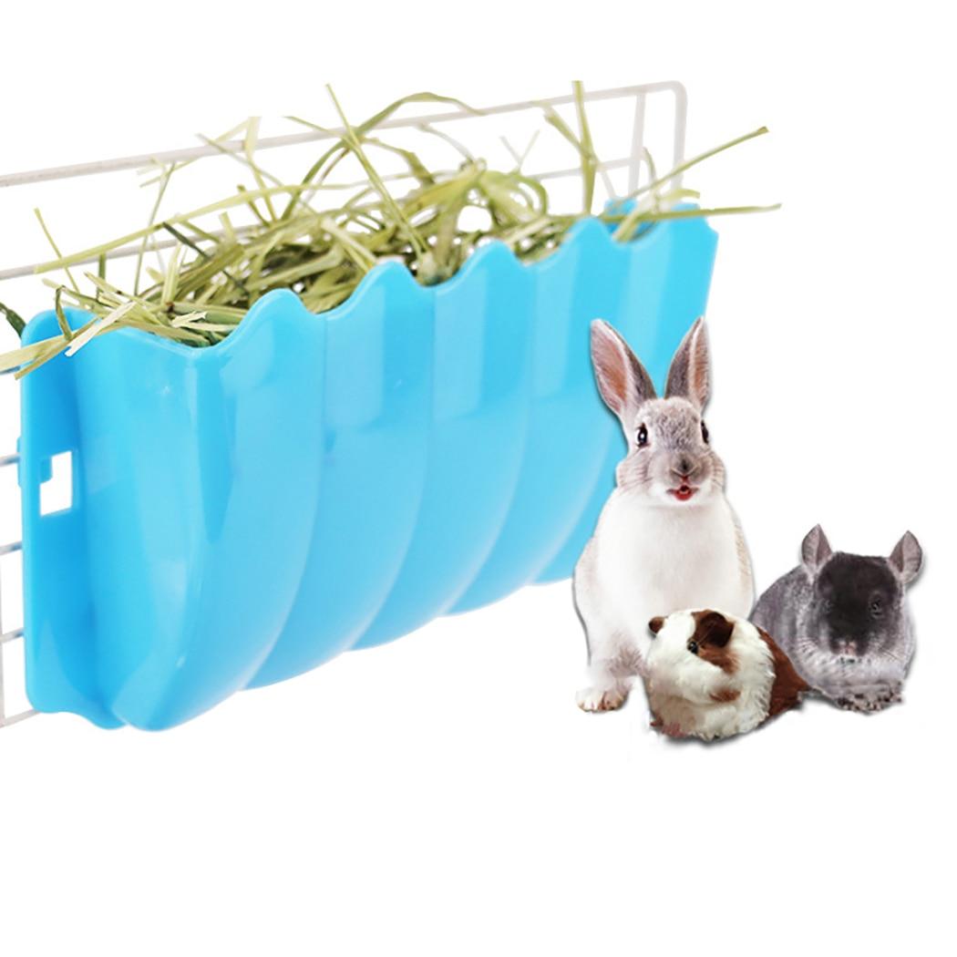 Bol dalimentation mural polyvalent créatif   Sécurité, petit animal lapin suspendu, mangeoire à foin créative, fournitures dalimentation pour animaux de compagnie
