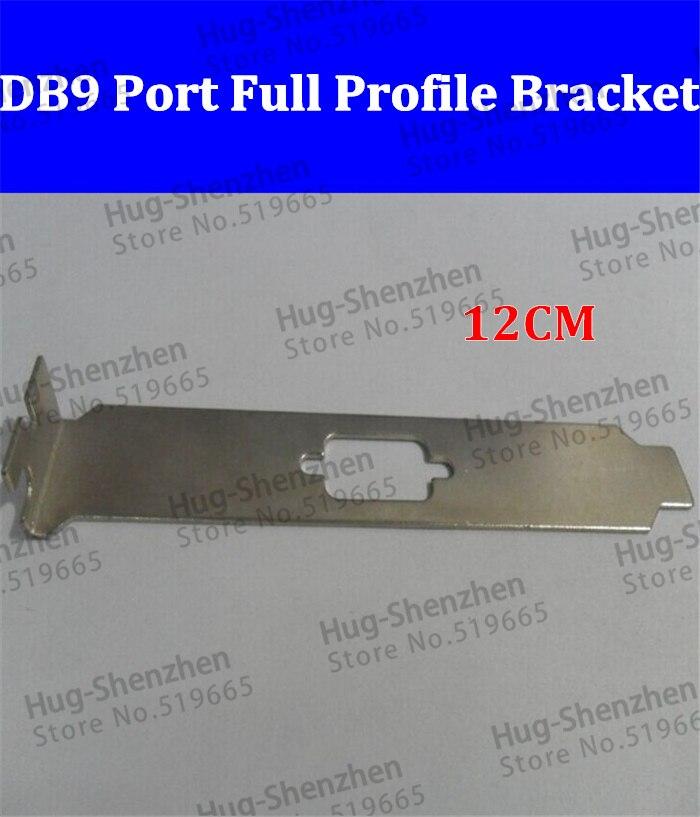 10 منافذ VGA عالية الجودة PCI PCI-E DB9 ، حامل ملف تعريف كامل للكمبيوتر ، 10 قطعة