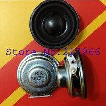 10 pièces X, 40mm diamètre 40mm * 20mm PU mousse bord rond bas corne haut-parleur 4 3 W double magnétique