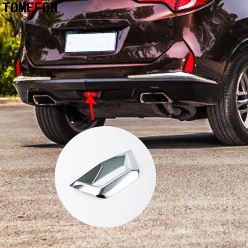 Accesorios para exteriores de coche tomepon para Acura CDX 2016 2017 2018 ABS cromado freno trasero luz inferior moldura para luz Stiker Trim