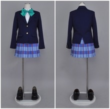 LoveLive Otonokizaka lycée Ayase Eli uniforme Cosplay Costume