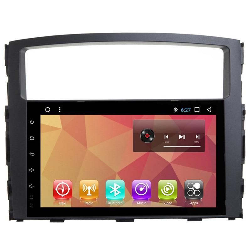 "9"" Android Car Multimedia Stereo Radio Audio DVD GPS Navigation Sat Nav Head Unit for Mitsubishi Pajero V93 V97 2010 2011 2012"