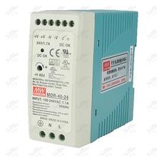MDR-40 12V 5V 15V 24V 36V 48V 40W Din Rail power supply ac-dc driver AC/DC voltage LED strip 110V 220V laboratory power supply