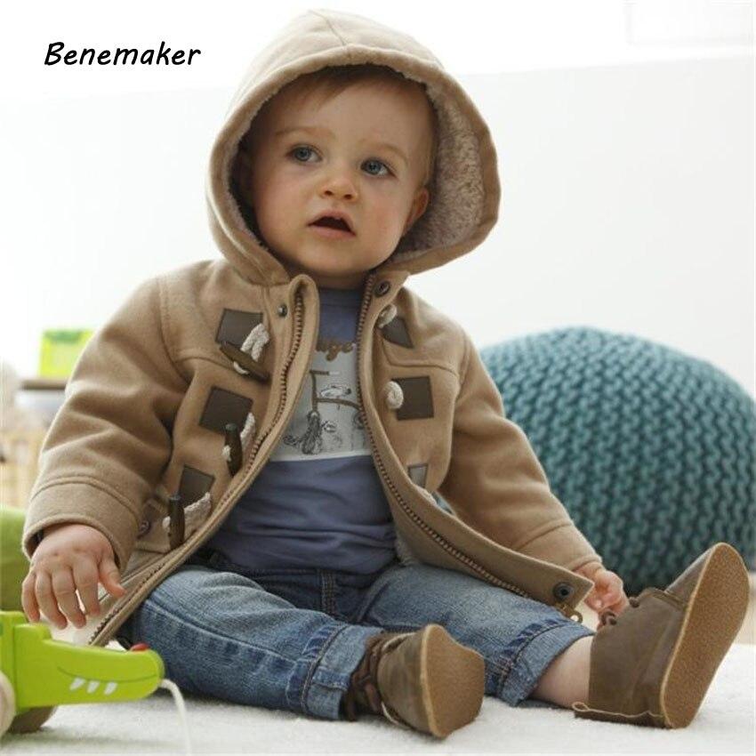 Benemaker/детская зимняя куртка для девочек и мальчиков; Флисовая ветровка; Детская одежда; Плотное шерстяное пальто; Детская одежда; Верхняя одежда; JH090-3