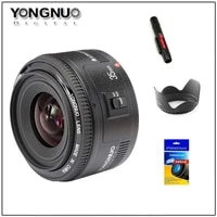 Yongnuo 35mm Lens YN35mm F2 lens Wide-angle Large Aperture Fixed Auto Focus Lens For canon Nikon Camera