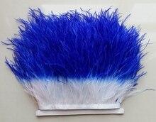 Ceinture en tissu de plumes 10cm à 15cm   2yards par lot, à bords en plumes, robe, costume de danse, matériel de décoration de costume