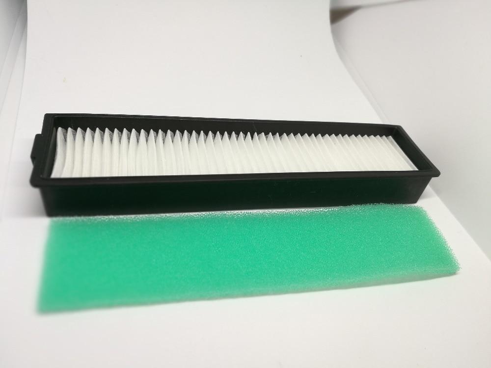 Сменный hepa-фильтр H11 И Зеленая Губка для LG Hom Bot VR6270LVM VR65710 VR6260LVM VR, 1 шт.