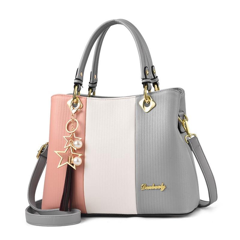2019 High Quality Womens Leather Handbags Luxury Ladies Hand Bags for Girls Large  Shoulder Bag Tote Messenger bag Big Sac Bols