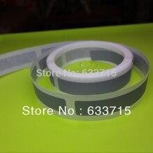 USD20/1000 pieces  size 6 *36mm  silver scratch off label sticker