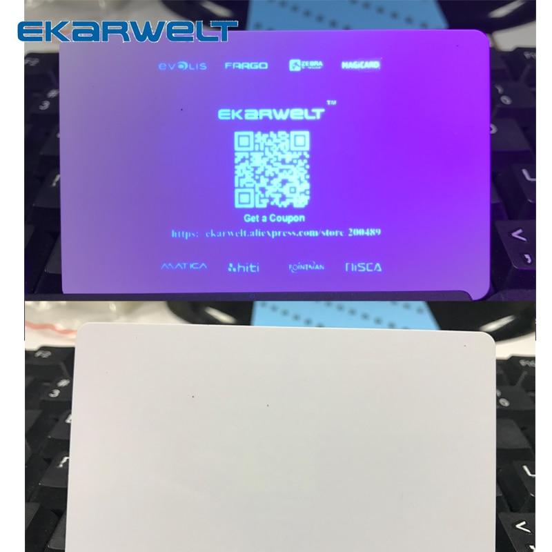 УФ-лента zebra blue invisiable, 1000 отпечатков для принтеров Zebra Javelin P310 P330i P430i J310 J330i J420i