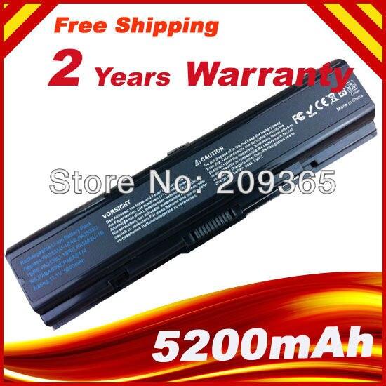 Batería del ordenador portátil para Toshiba Satellite A300 A500D A300 A300D A200 A202 A203 A210 L300 L300D L305D L500 PA3534U-1BAS PA3534U-1BRS