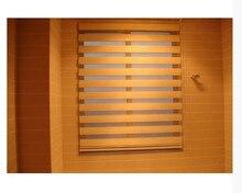Popular zebra blinds/double-layer roller blinds/ready made curtain/curtain fabric curtain window curtain