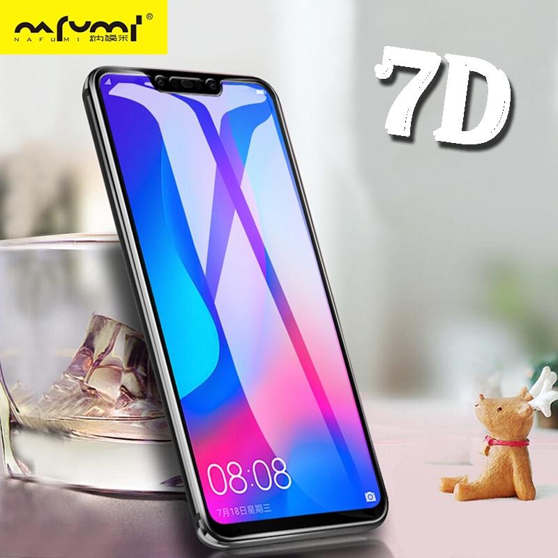 7D protectora de vidrio para Huawei Nova 3 Protector de pantalla en vidrio templado para Huawei Mate 10 20 Lite P20 Pro honor 7X8X9 Lite