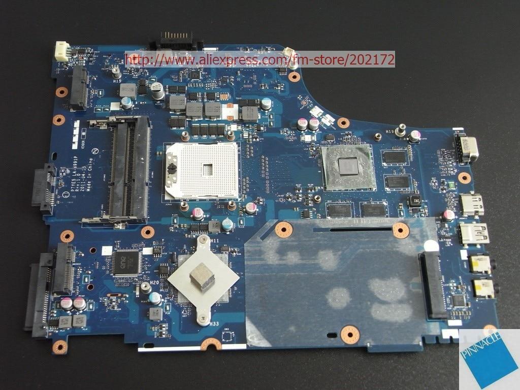 MBRQF02001 P7YE5 LA-6991P placa madre para Acer Aspire 7560 7560G Gateway NV75S