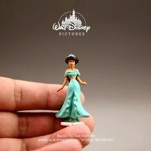 Disney Aladdin Jasmine Princess Cartoon 4.5cm mini doll Action Figure Anime Mini Collection Figurine Toy model for children gift