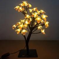 Luminarias-lumieres de Table  eclairage de Table  decoration dinterieur  mariage  mariage  Branches darbre de fleur de cerisier  LED