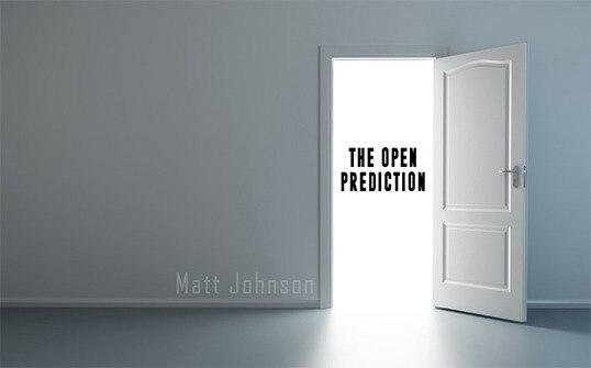Предсказание Мэтта Джонсона о «открытом»-Волшебные трюки