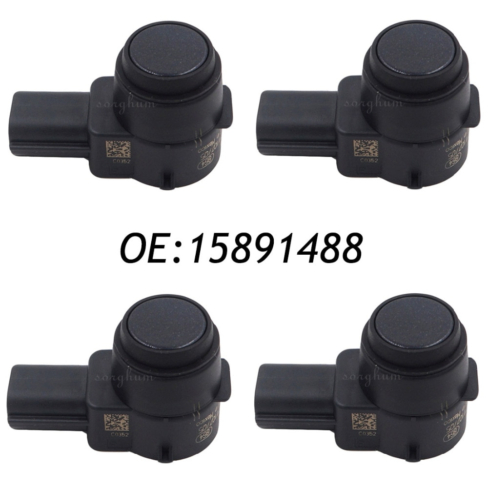 4PCS PDC Backup Reverse Parking Assist Sensor For GM 15891488 0263003601