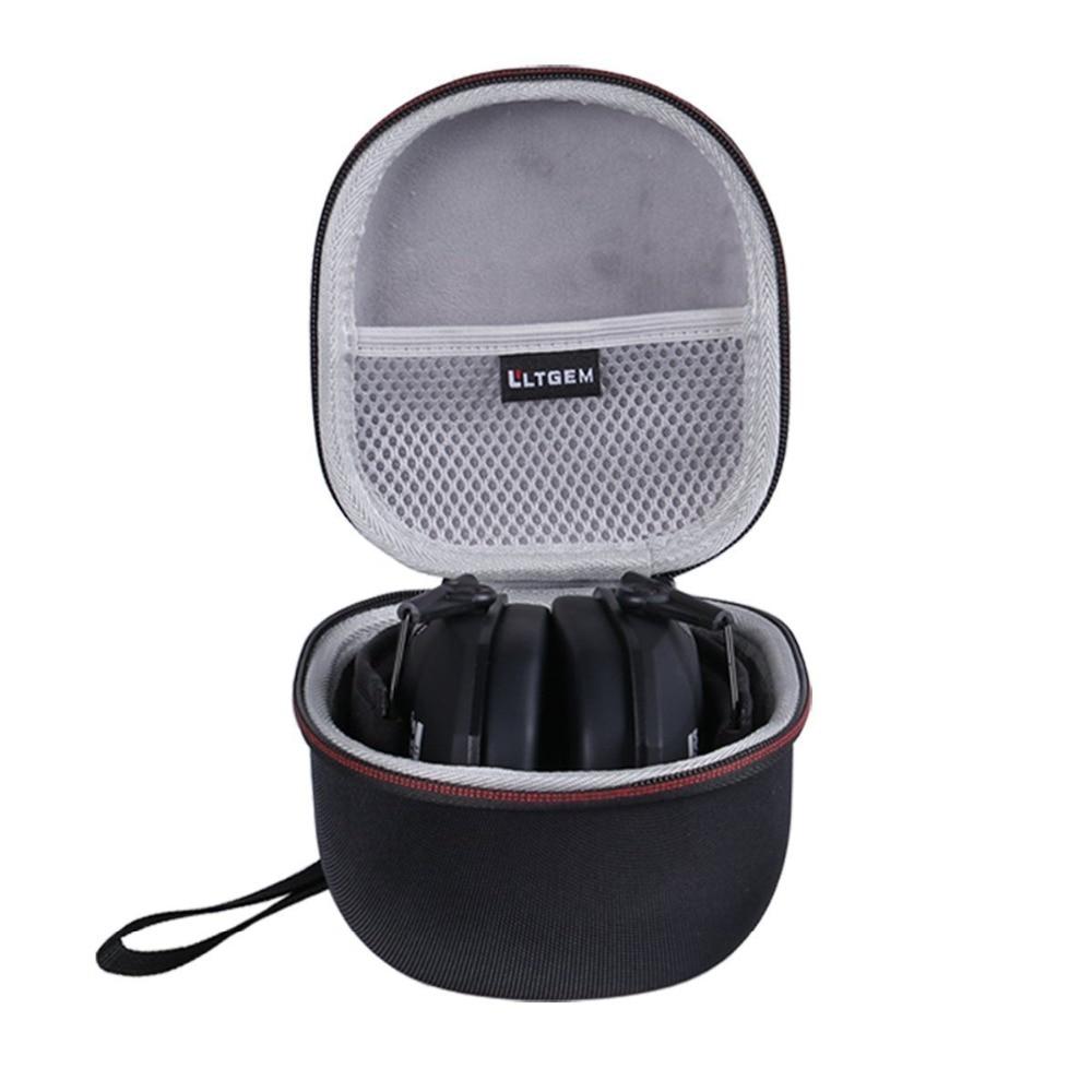 Funda LTGEM para juego Walkers Ear Razor Slim Electronic Muff con bolsillo de malla para accesorios.