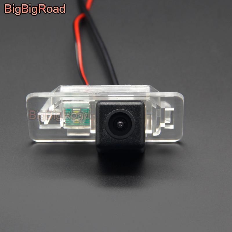 BigBigRoad Auto Achteruitrijcamera Backup Camera Voor BMW X3 X5 X6 E60 E61 E62 E90 E91 E92 E53 E70 E71 e46 E39/Mini Cooper Nachtzicht