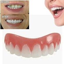 Pâte de prothèse dentaire en Silicone à placage parfait, amovible et sans odeur