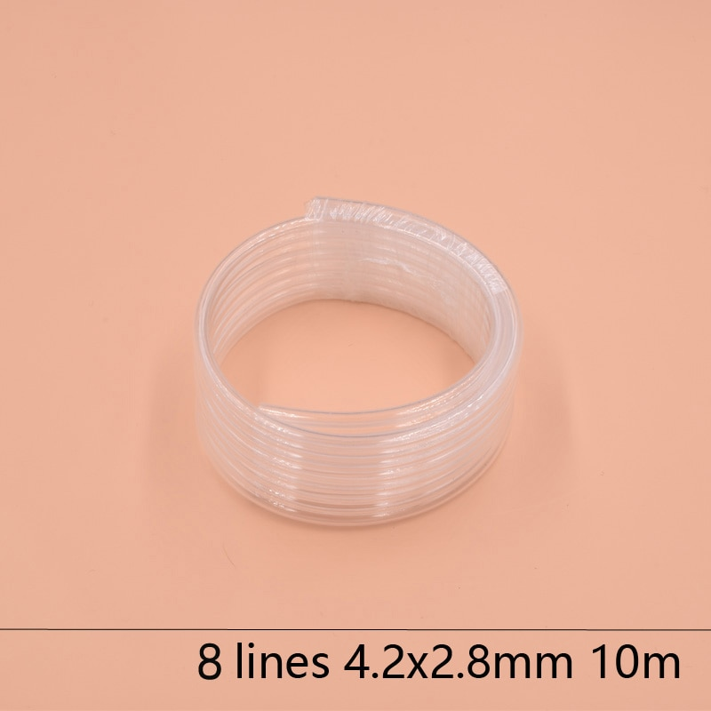 Фото - 8 Lines eco solvent printer ink tube 4.2X2.8MM for Epson Allwin Mimaki Roland Mutoh ink hose 10M/lot Large ink supply ink system rescue ink rescue ink
