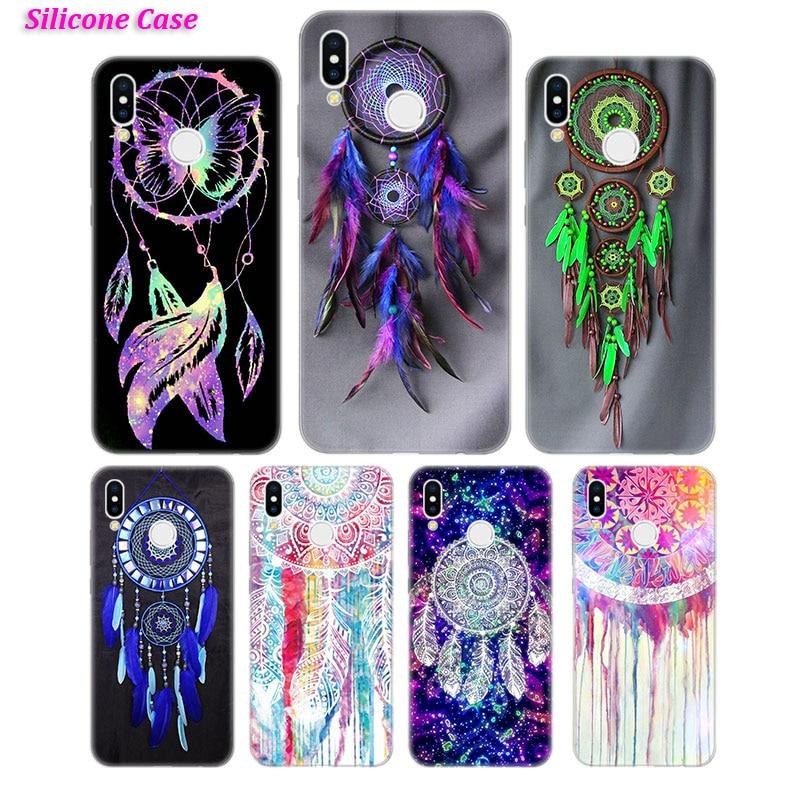 Caja del teléfono de silicona sueño Catcher de moda para Huawei Honor 7C 7A 8 8X 9 10 Y5 Y6 Y7 Y9 V20 Lite 2019 Pro 2018 Nova 3 4