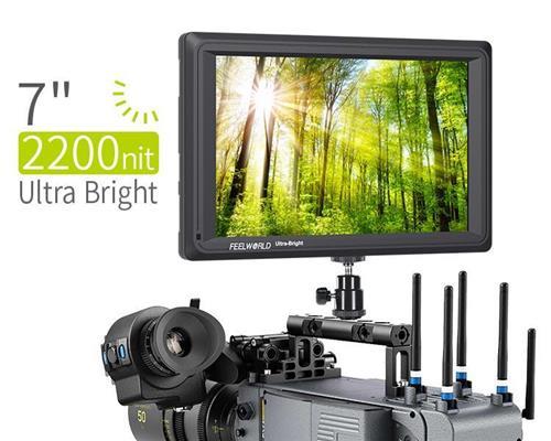 كاميرا بلورية بلورية عالية الوضوح 7 بوصة الجيل الثالث SDI 4K HDMI DSLR شاشة عرض ميدانية فائقة السطوع 2200cd/m2 دقة عالية كاملة 1920x1200 LCD IPS FW279S للاستخدام ال...