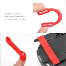 4 pièces courroie stabilisatrice dhélice pour DJI Mavic air Drone accessoires moteur dhélice sangle de maintien Prop lame stabilisateur protecteur