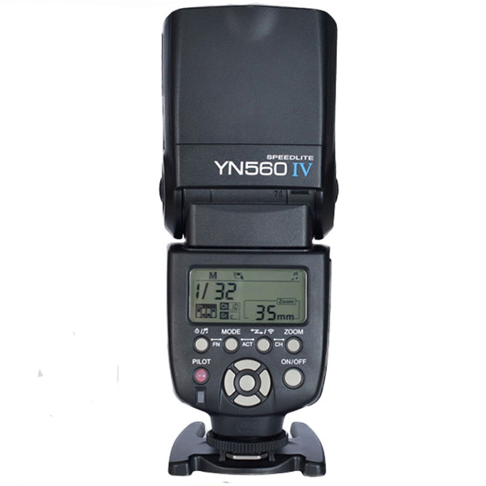 Yongnuo YN-560 IV de Flash para Canon Nikon Pentax Olympus DSLR cámaras YN560 4 560VI versión de actualización de YN560 II YN560III