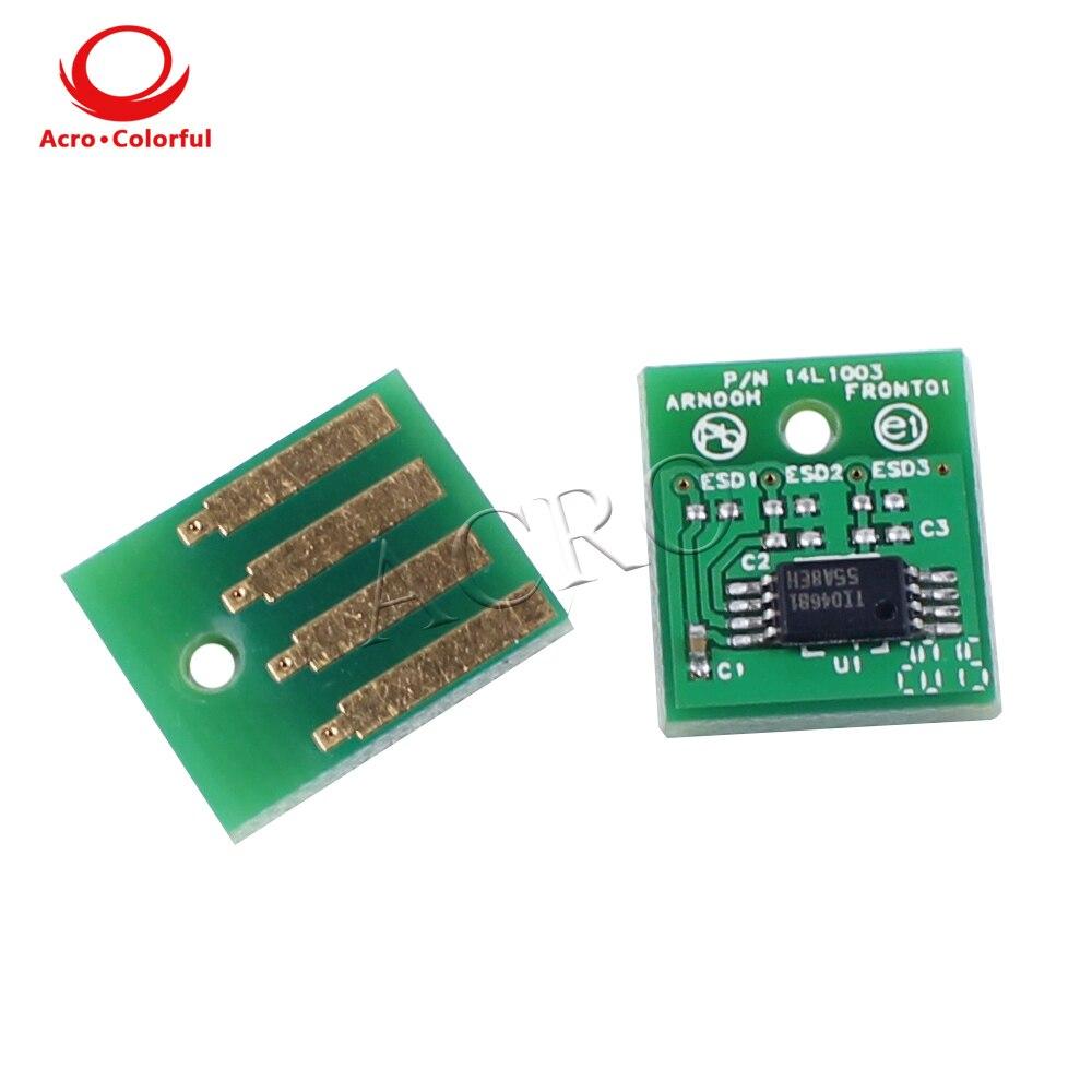 25K 62D1H00 621H Toner Reset Chip for Lexmark MX710 MX711 MX810 MX811 MX812 North America laser printer Cartridge