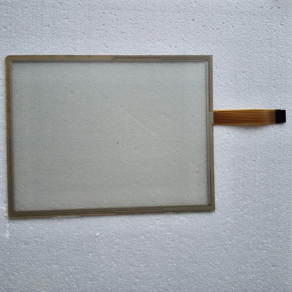 استبدال AMT9535 AMT-9546 8 سلك 15 بوصة لوحة اللمس زجاج الشاشة ل HMI إصلاح ~ تفعل ذلك بنفسك ، جديد ويكون في الأسهم