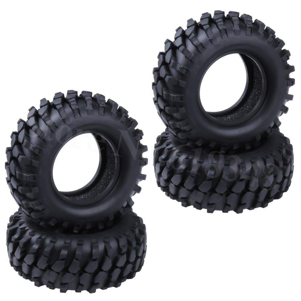 4 Uds 1,9 pulgadas de 96mm RC neumáticos crawler con insertos de espuma ID 48mm de ancho 36mm para Control remoto de neumáticos de coche