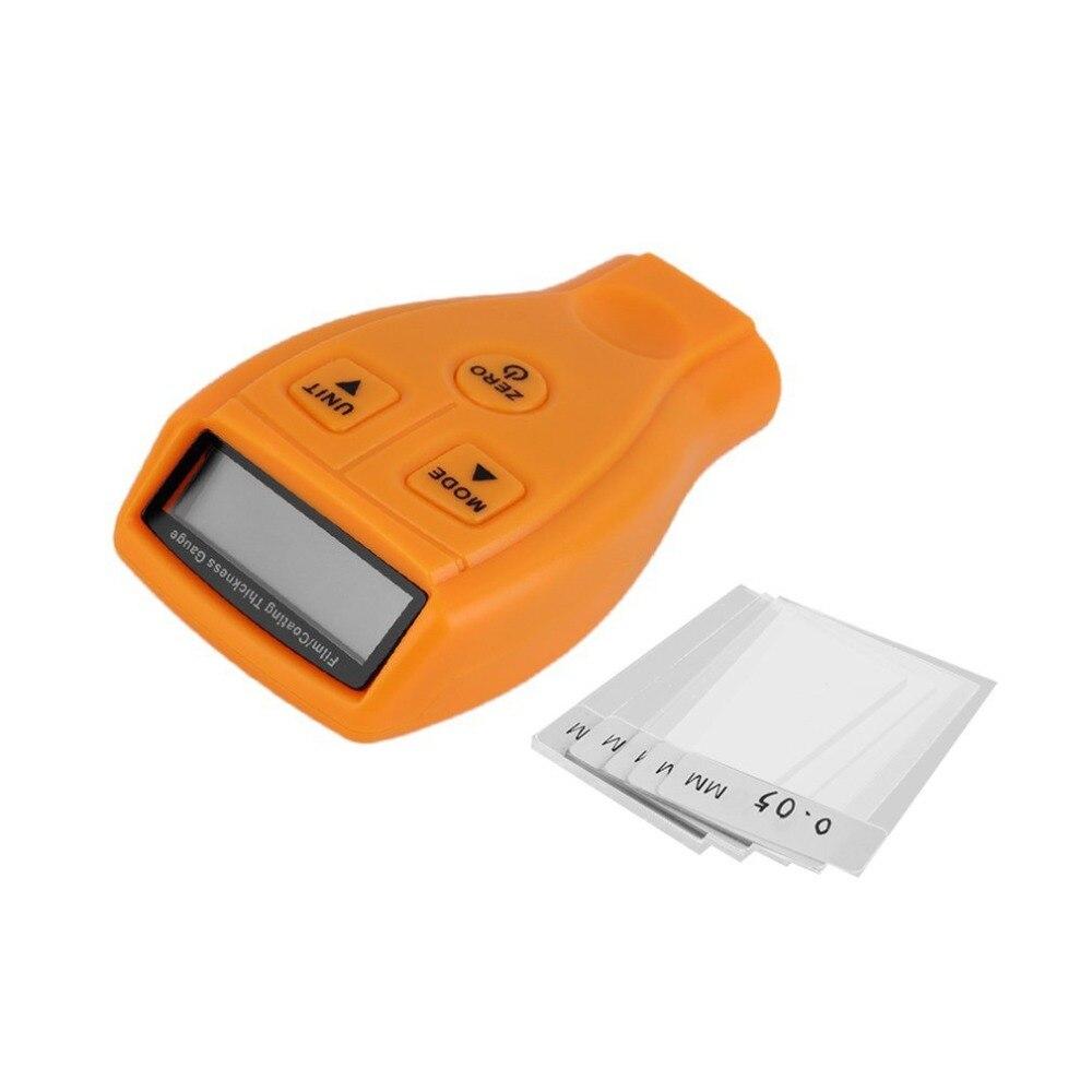 GM200 Min LCD 0-1,80mm/0-71,0 mil Digital automóvil pintura revestimiento espesor medidor herramienta de medición probador de sonda