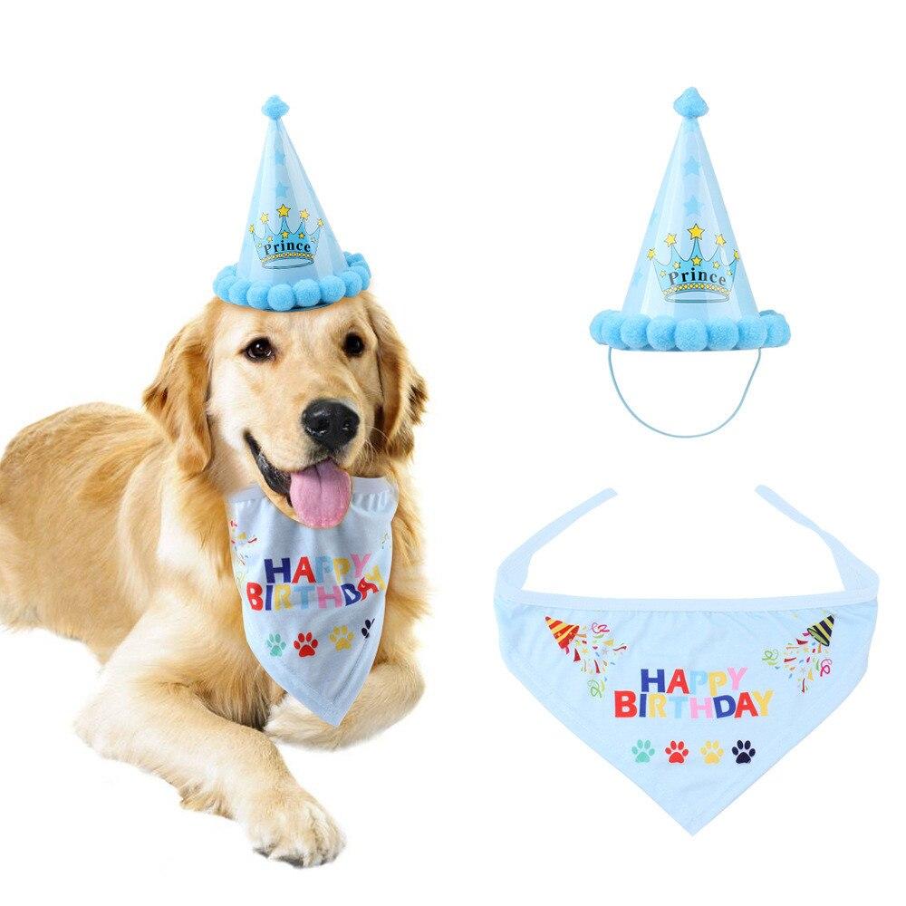 Головной убор для дня рождения, головной убор, аксессуар для питомца, одежда для домашних животных, 2019