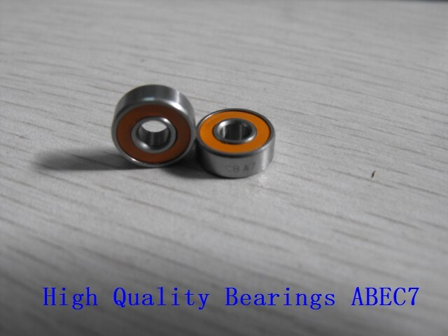1 Uds 3X10X4 5X11X4 ABU carrete de acero inoxidable híbrido rodamientos de bolas cerámicos para Revo... MGX Elite... IB cohete SX... Orra.