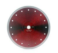 DC-SXSB08 super thin 10 inch 250mm diamond ceramic cutting blade for ceramic and porcelain tile cutting