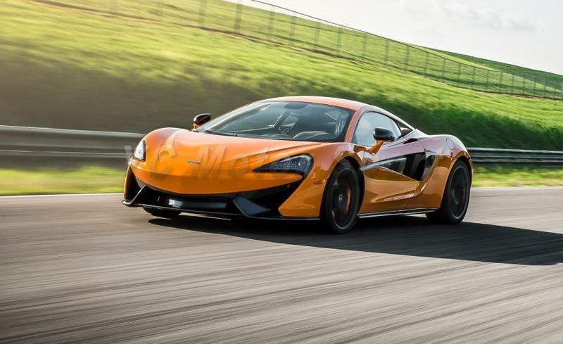 Jupes latérales de sous-panneau   Accessoires de voiture en Fiber de carbone, jupes latérales de Style OEM adaptées à la jupe de côté 2016-2017 McLaren 570S