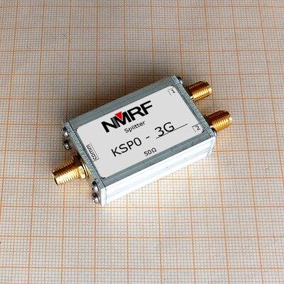 KSP0-3G 800 ~ 3200MHz النطاق العريض ويلكنسون RF الفاصل/الموحد ، SMA واجهة ، 1W