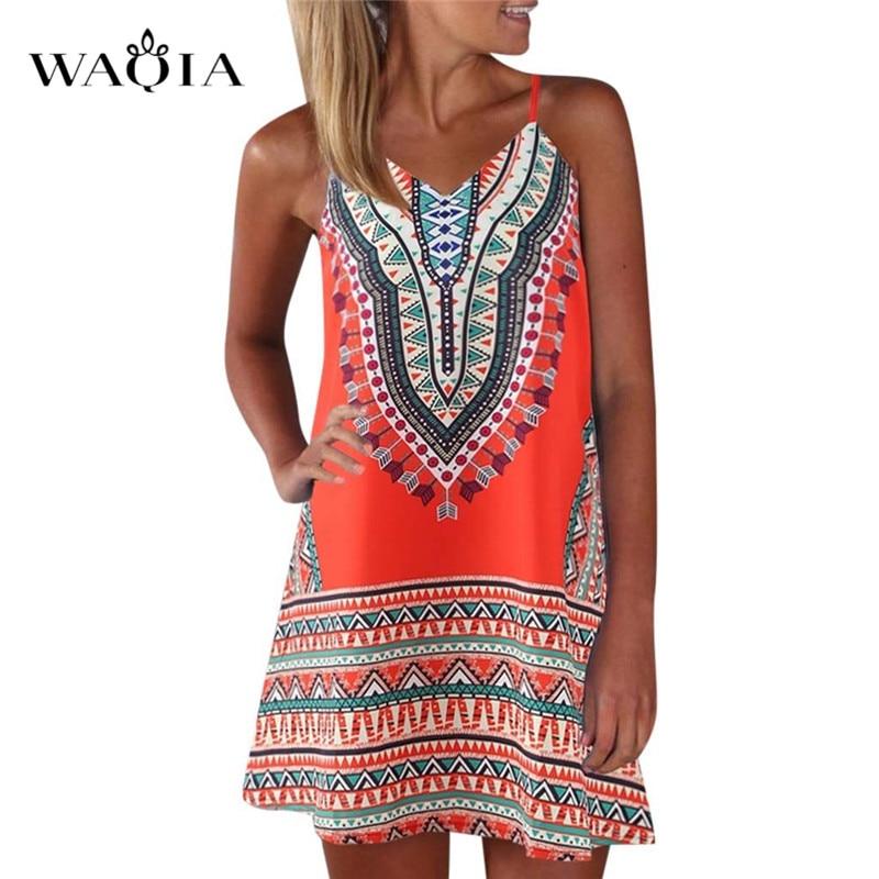 Размера плюс 3XL 2019 Для женщин летние Пляжные наряды принт Цвет блок платье без