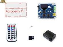 Raspberry Pi RPi Acce B mit RPi Expansion Board Pioneer600, 16 GB Micro SD Karte & IR Controller für Raspberry Pi 3B/2B/B +/A +