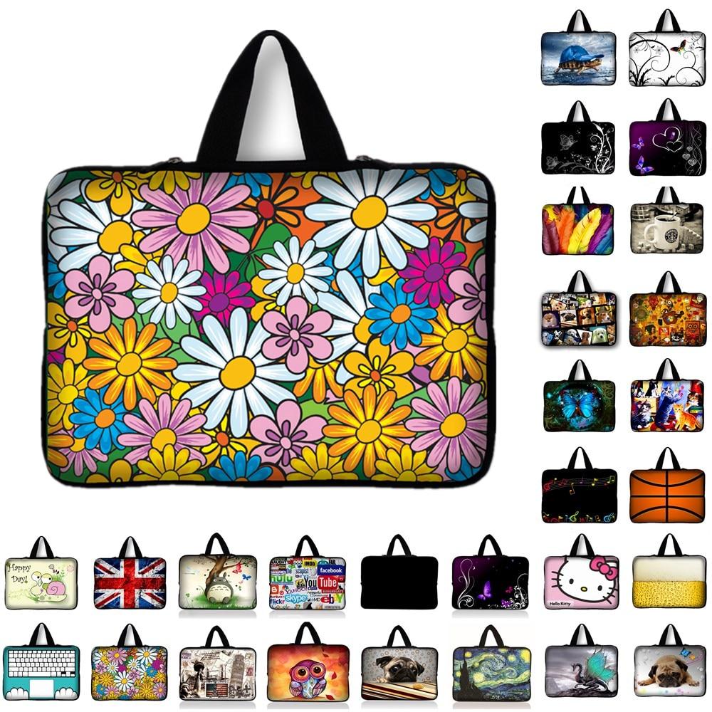 Portable Laptop Bag For Macbook 10 11.6 13.3 14.4 15.4 15.6 17 17.3 inch Netbook Zipper Sleeve Case