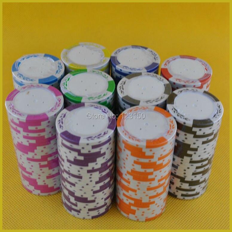 PK-8001L chip de póker en blanco, diámetro 43mm 15,5g/pc, 50 Uds. Como lote, envío gratis