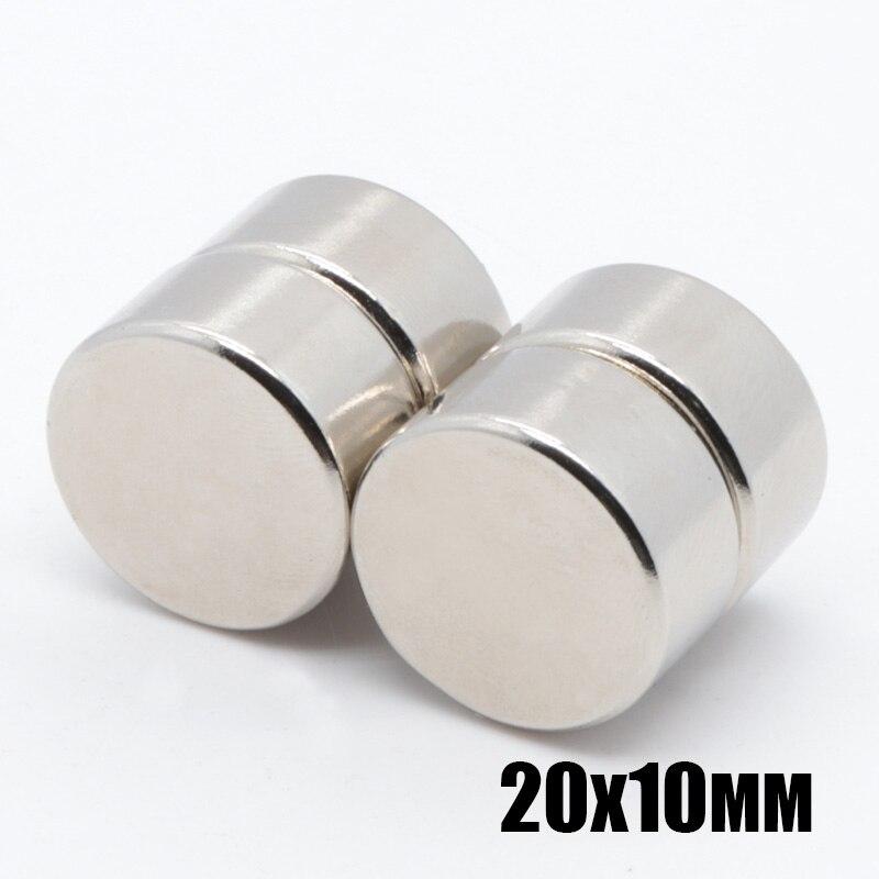 10 шт. 20*10 мм N35 мини супер сильный редкоземельный постоянный магнит на холодильник 20x10 мм небольшой круглый неодимовый магнит 20*10 мм