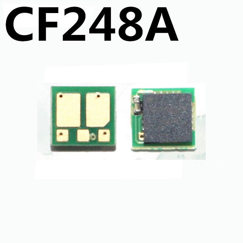 2x CF248A para HP LaserJet Pro M15a M15w MFP M28a M28w M15 M28 M29 tóner de cartucho de impresora chip 248A 48A polvo restablecer reemplazar