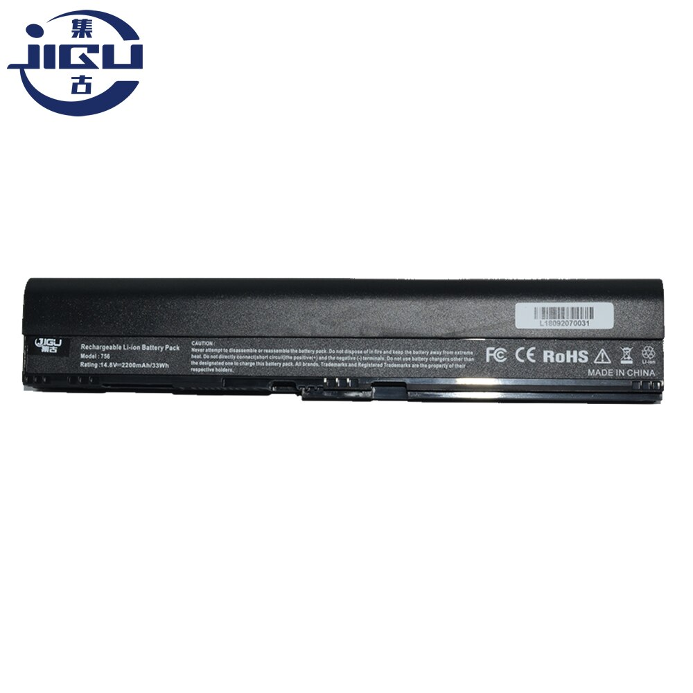 JIGU 4 celdas de la batería AK.004BT! 098 AL12B72 AL12X32 para Acer para Aspire C7 Chromebook Series 725 serie 756 V5-121