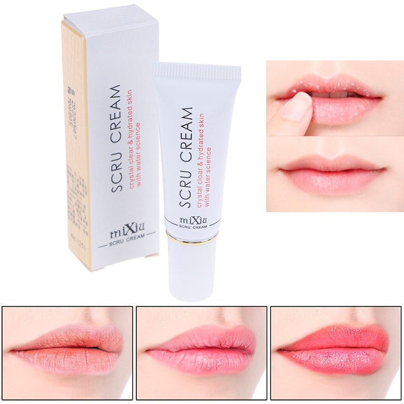 1pc Beauty Lip Scrub Removal Horniness Water Science Lips Exfoliating Gel Scru Gel Crystal Clear Hydrated With Water Science